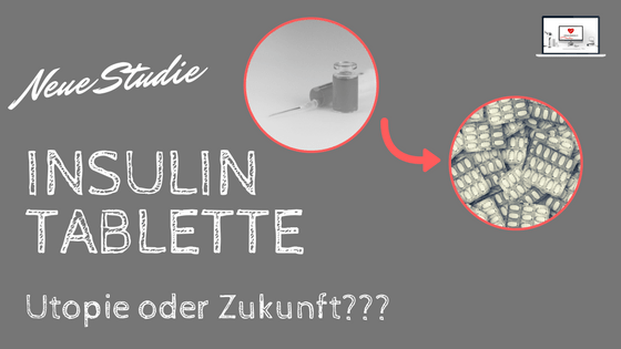 Insulin-Tablette