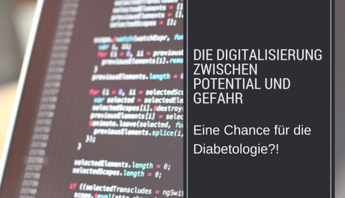 Diabetes Digitalisierung